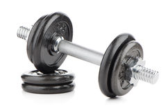 Dumbbell weights Stock Image