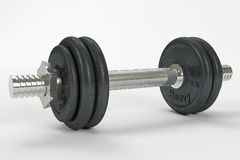 Dumbbell01 Royalty Free Stock Photos