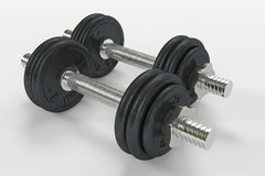 Dumbbell04 Stock Photo