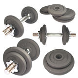 Dumbbells fotos de stock royalty free