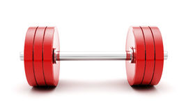 Dumbbells Stockfoto