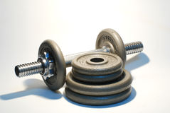 Dumbbells Foto de Stock Royalty Free