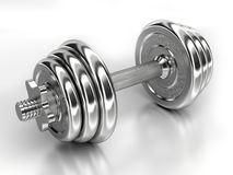 Dumbbells Stock Images