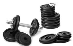 Dumbbells Fotografie Stock