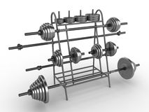 Dumbbells stock abbildung