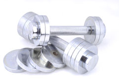 Dumbbells Royalty Free Stock Image