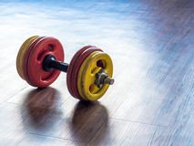 dumbbells Imagem de Stock Royalty Free