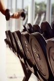 dumbbells Photo libre de droits