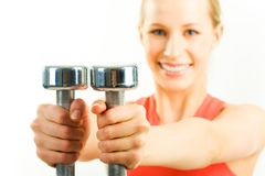 Dumbbells Stock Photography