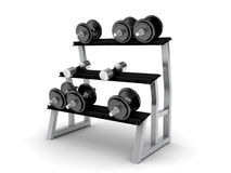 Dumbbells Immagine Stock