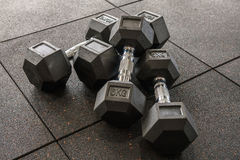 dumbbells Stock Foto's