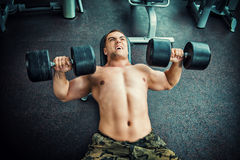 Dumbbells Royalty Free Stock Photography