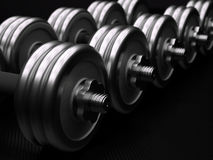 Dumbbells Stock Photo