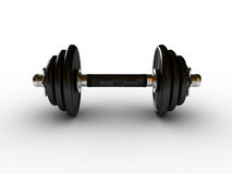 Dumbbells in fitness center Royalty Free Stock Images