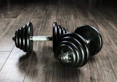 Dumbbells for fitness Stock Images