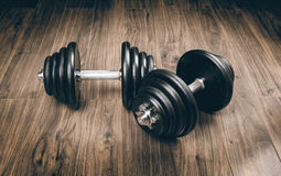 Dumbbells for fitness Royalty Free Stock Image