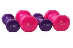 dumbbells free hand weights Στοκ φωτογραφία με δικαίωμα ελεύθερης χρήσης