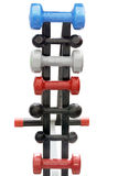 A dumbbells on the rest Royalty Free Stock Photos