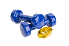 The dumbbells Stock Photo