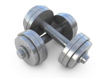 Dumbbells weight Stock Photos