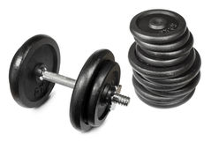 dumbell Obrazy Stock