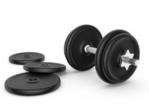 Dumbell Royalty Free Stock Photography