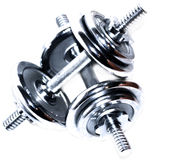 dumbell Photo libre de droits
