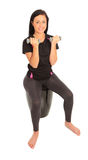 Dumbell Exercise Royalty Free Stock Photo