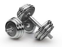 Dumbell Gewichte Stockbilder