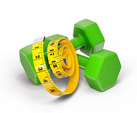 Dumbell Royalty Free Stock Photo