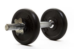 Dumbell Isolated Royalty Free Stock Photography