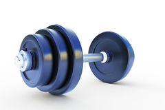 Dumbell isolated on white Royalty Free Stock Image