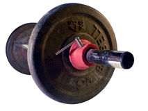 Dumbell weight Royalty Free Stock Photo