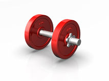 Dumbell weight Stock Photos