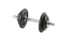Dumbell on white Stock Photo