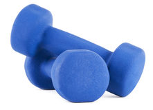 Dumbells Royalty Free Stock Images