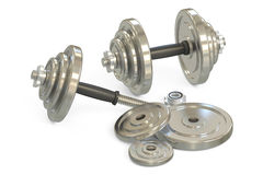 Dumbells Royalty Free Stock Photography