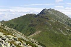 Dumbier, самая высокая вершина гор низкого Tatras Словакии Стоковая Фотография RF
