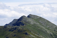 Dumbier, the highest Peak of Slovakia Mountains Low Tatras Stock Photography
