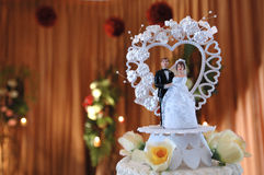 Dumbies de la boda Foto de archivo