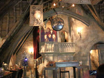 Dumbledore哈利・波特Wizarding世界的` s办公室  库存照片