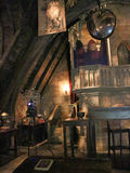 Dumbledore`s office in The Wizarding World of Harry Potter Royalty Free Stock Image