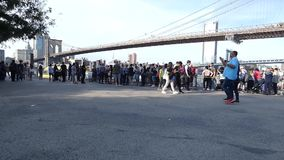 Dumbo在布鲁克林 影视素材