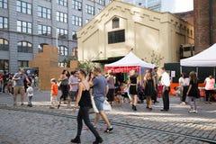 Dumbo Arts Festival Brooklyn Stock Photo