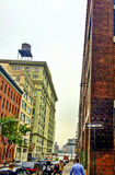 Dumbo. Beautiful view in Dumbo area royalty free stock photography