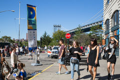 DUMBO Brooklyn Arts Festival Royalty Free Stock Photo