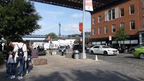 Dumbo en Brooklyn almacen de video