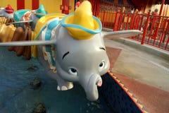 Dumbo il giro Fotografie Stock Libere da Diritti