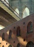 dumbo New York brooklyn моста стоковая фотография