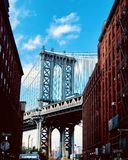 DUMBO. In the streets of Dumbo stock photography